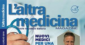 Copertina L'Altra Medicina 87 Luglio