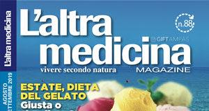Copertina L'altra Medicina 88 - Agosto 2019