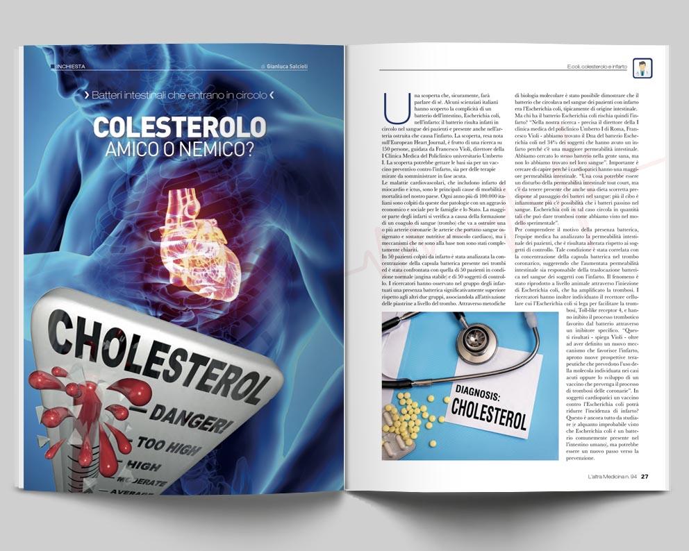 L'Altra Medicina 94 - Inchiesta Colesterolo Amico o Nemico?