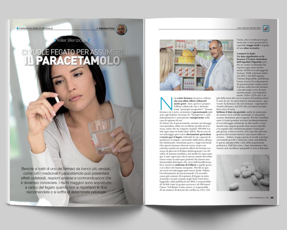 FARMACOLOGIA DI SEGNALE - Ci vuole fegato per assumere il Paracetamolo - di Gabriele Prinzi